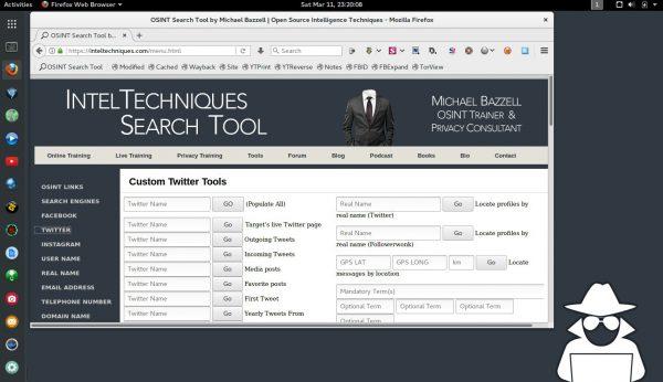 IntelTechniques Blog » OSINT